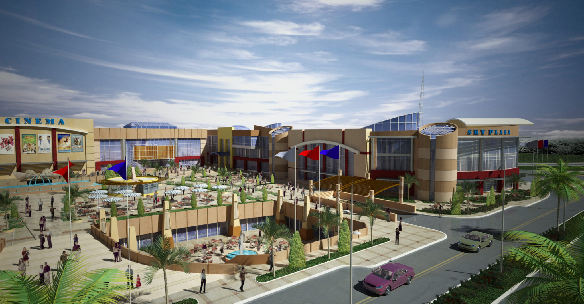 Sky Plaza Mall exterior