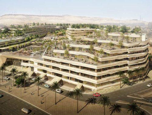 Cairo Financial Center Exterior