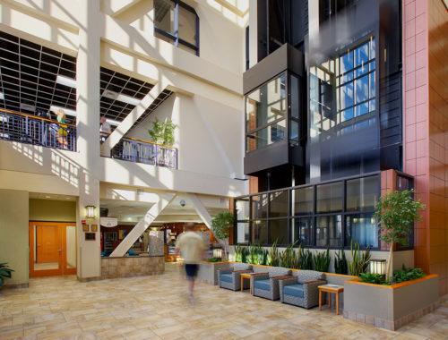 Saint Francis lobby area