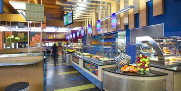 CSU dining hall