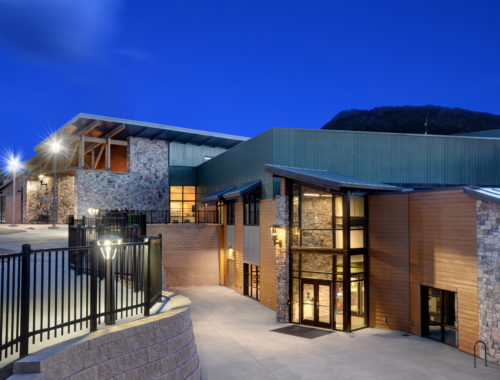 Estes Valley Community Center exterior