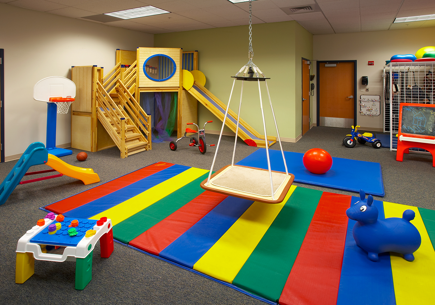 Kids rehab area.