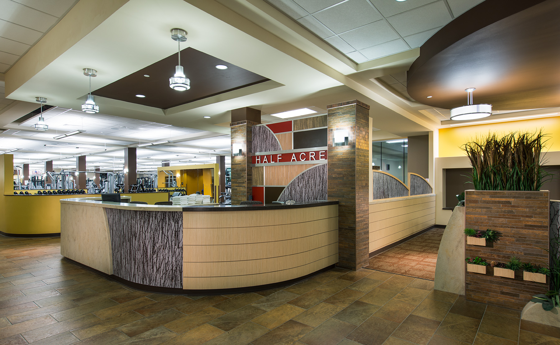 UW Half-Acre Health and Wellness lobby