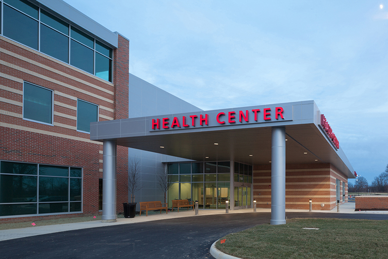 Health center building