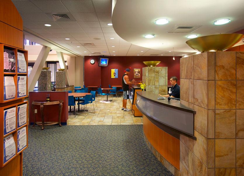 St. Francis lobby