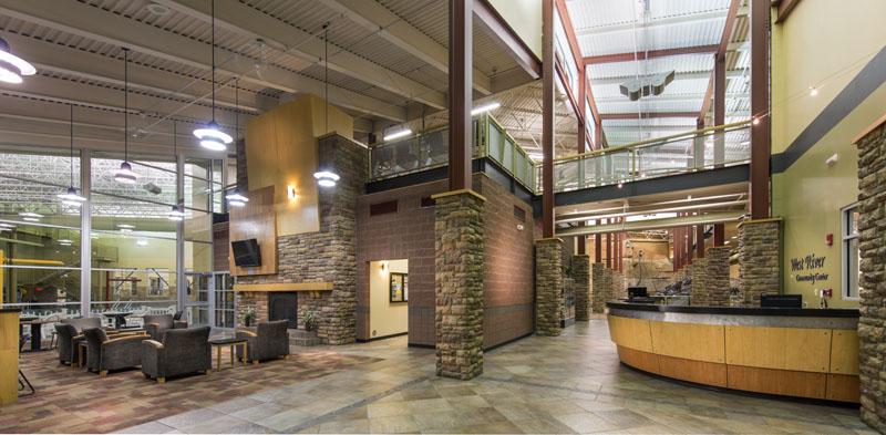 community center lobby