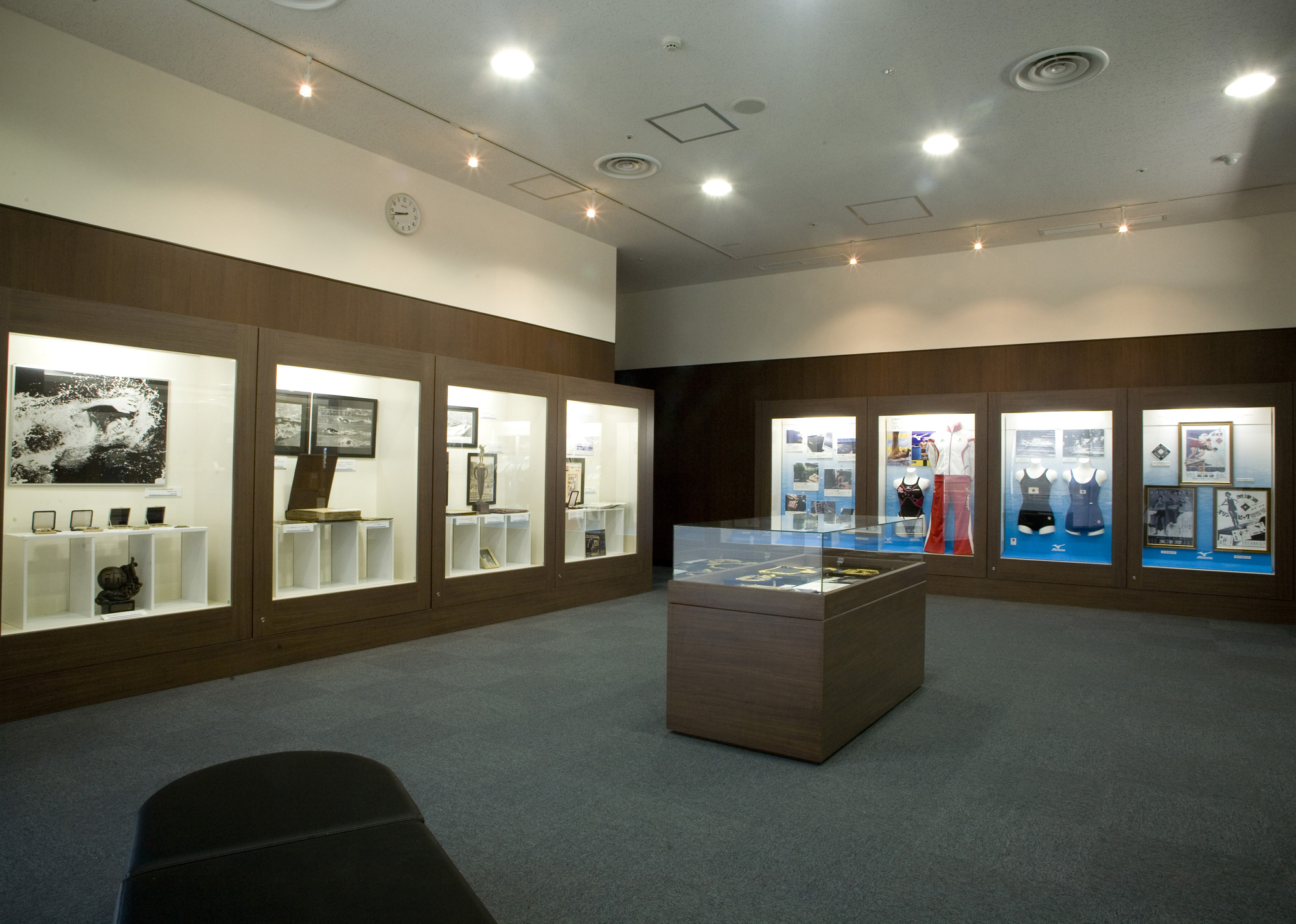 Trophy and awards room