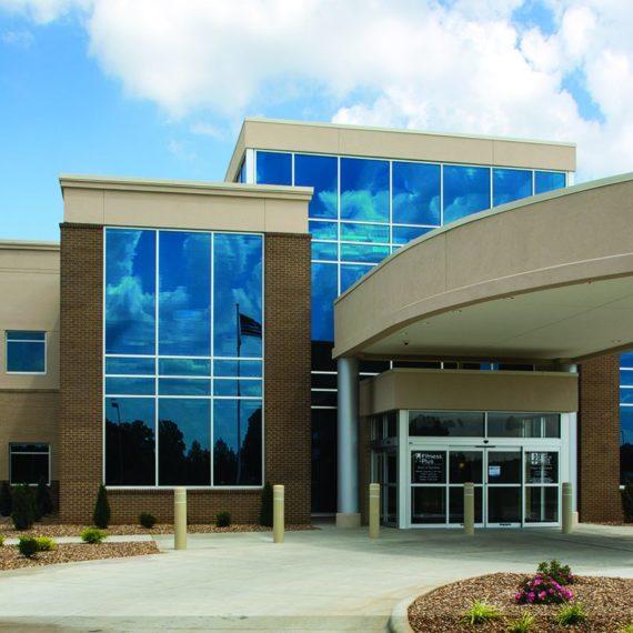 Exterior entrance view