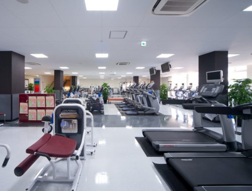 Cardio equipment and weights