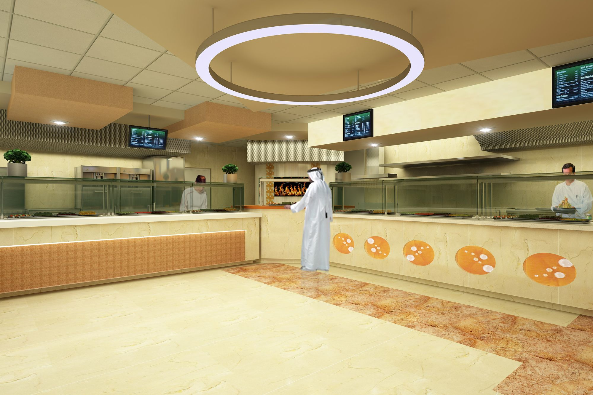 Food service station