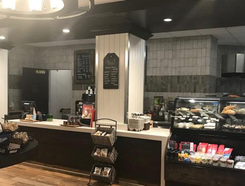 Cashier counter