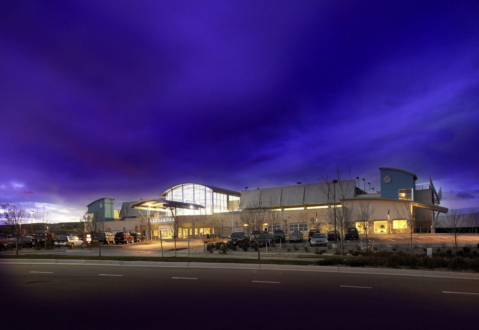 Exterior building night