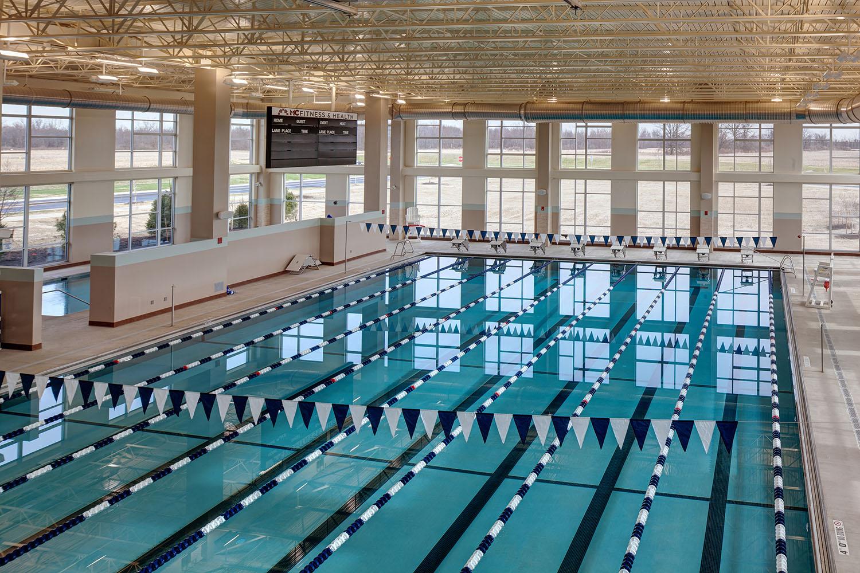 Indoor lap pools