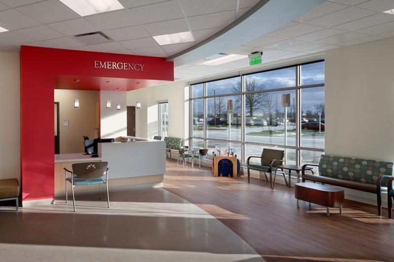 Emergency room waiting area