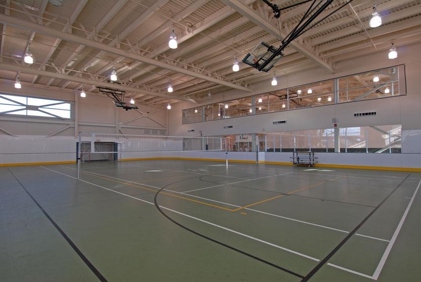 MAC gym volleyball