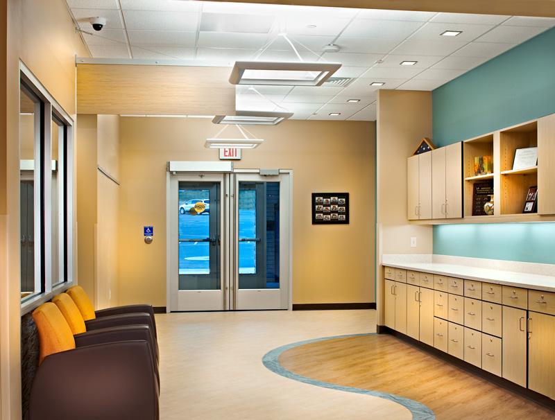 Waiting area/hallway