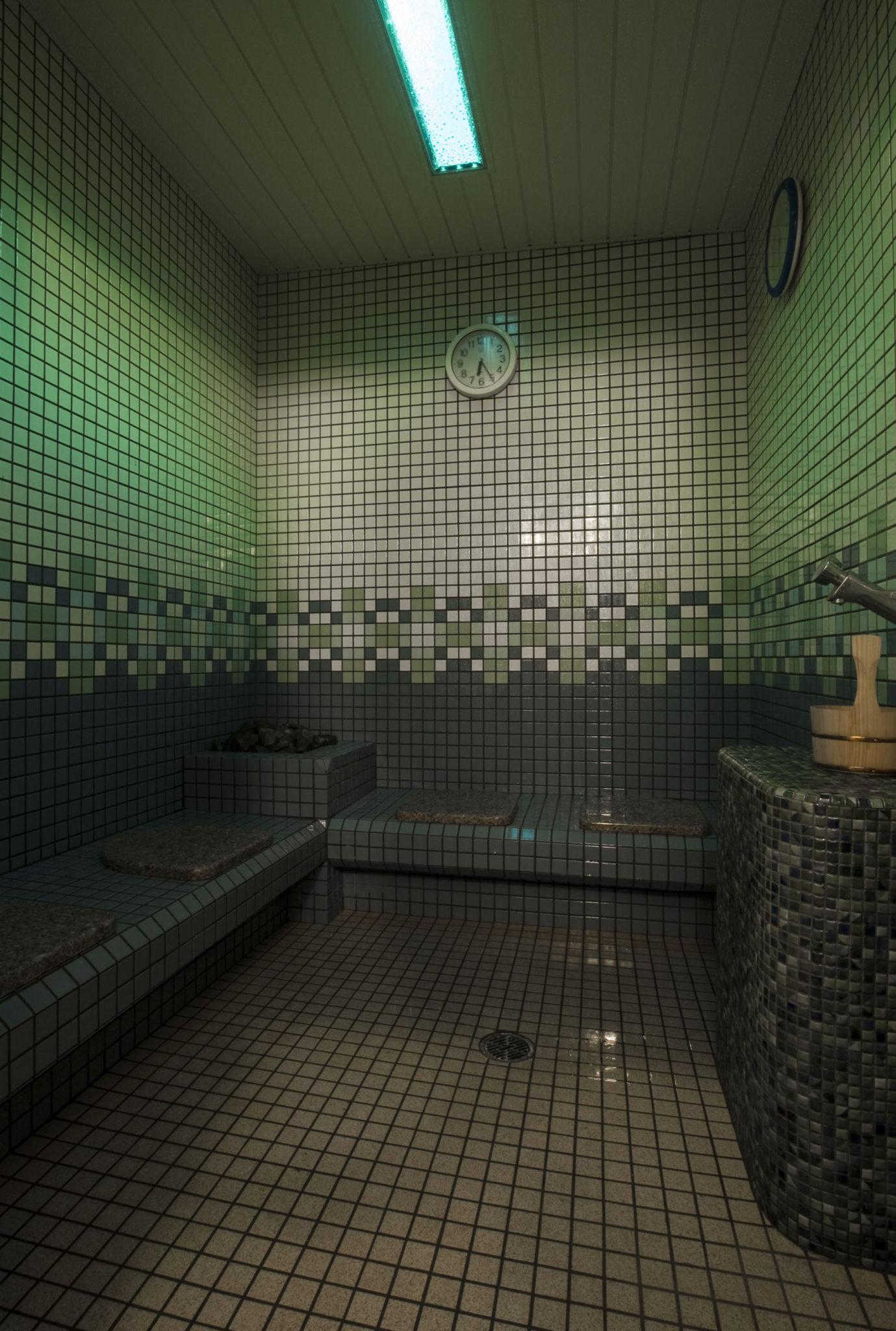 Green steam room