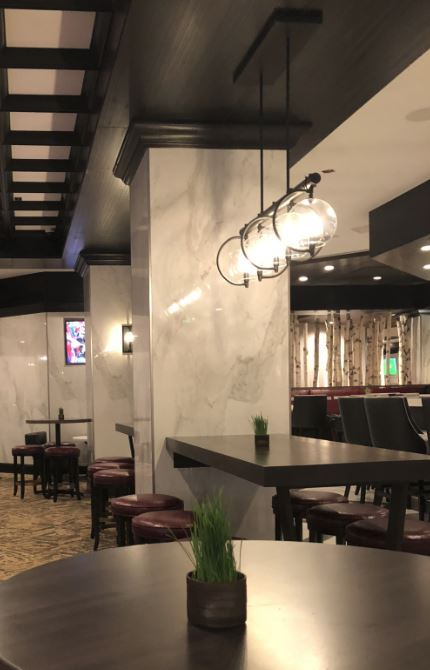 Interior of the Hub Bar