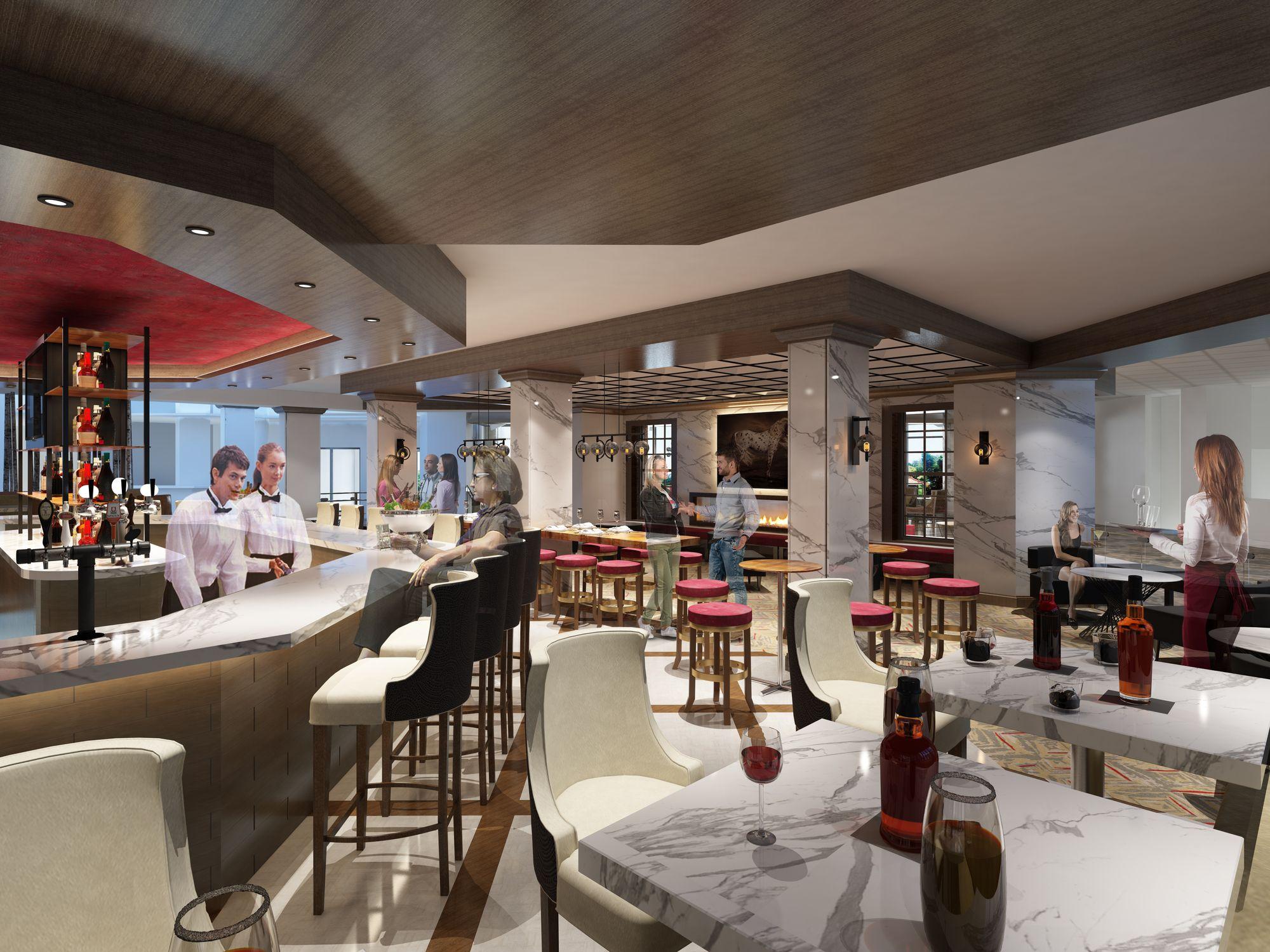 The Hub Bar rendering