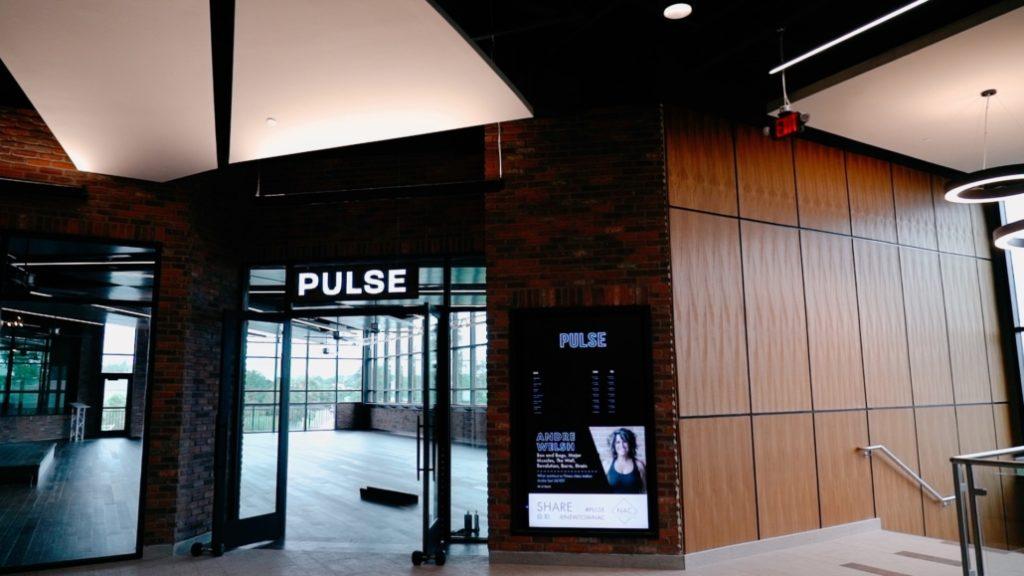 NAC Pulse Studio entrance