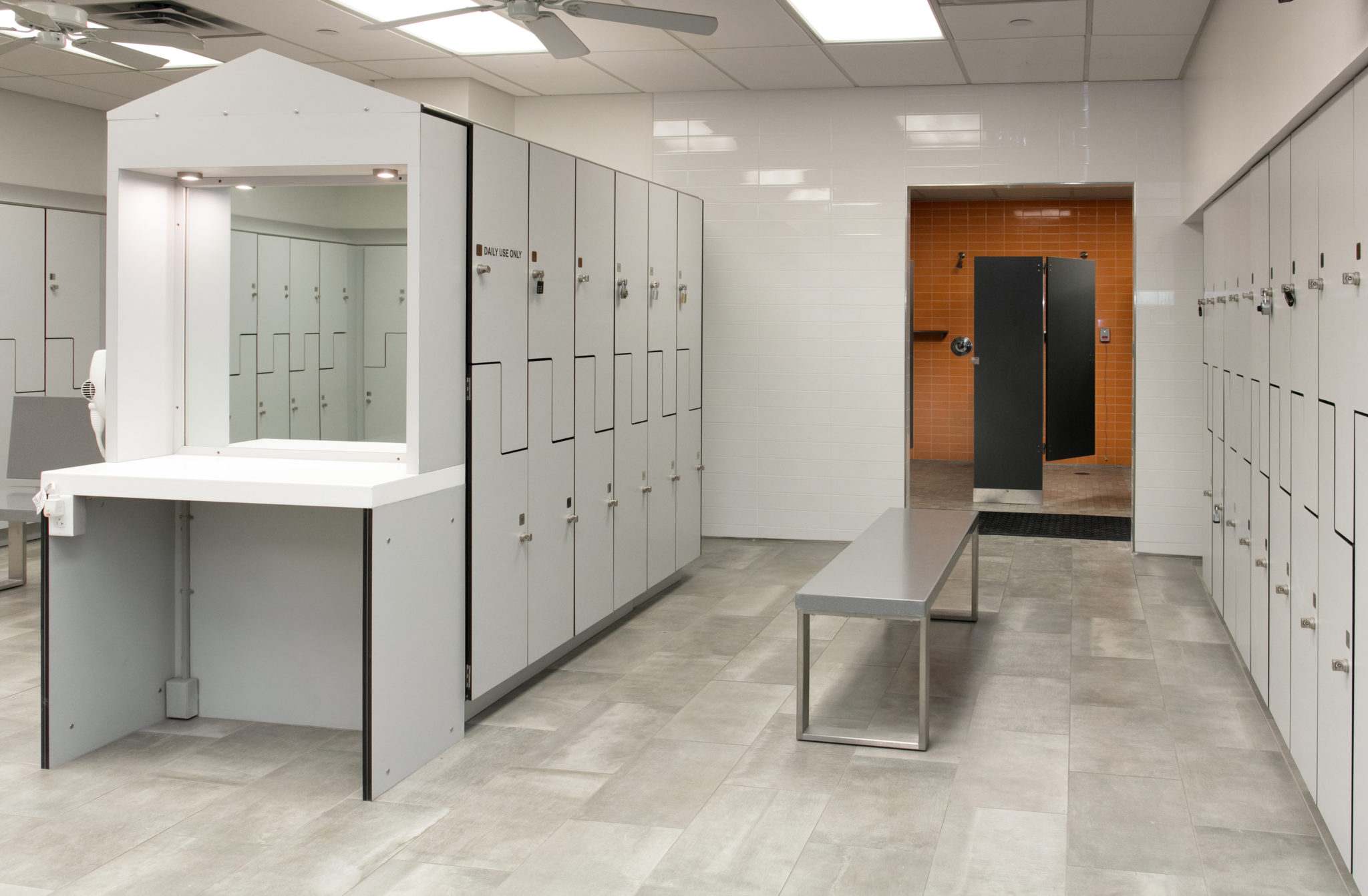 LifeStyle Centre Locker Rooms