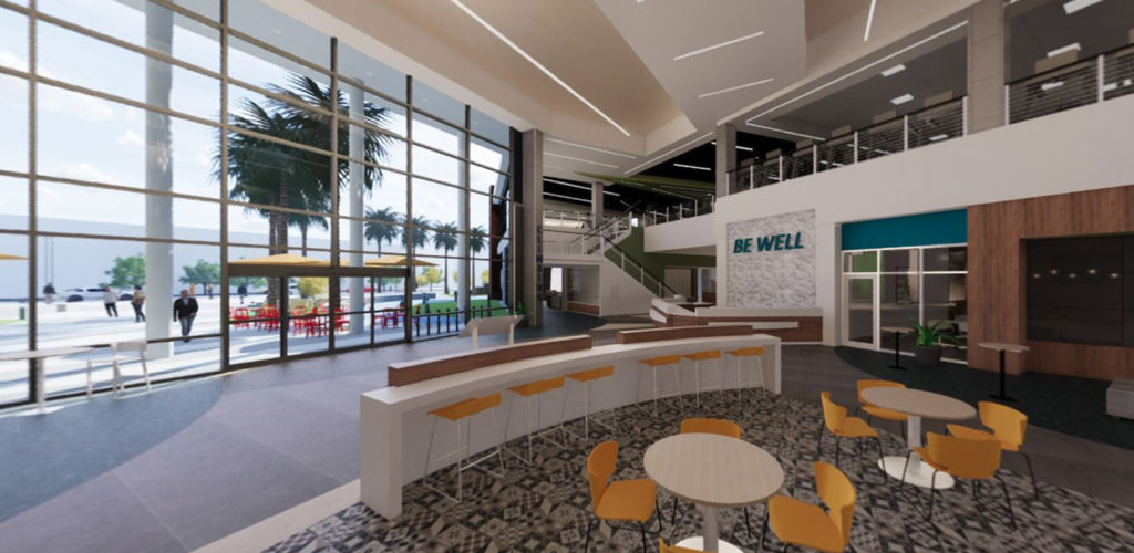 Lake Nona Center for Integrated Wellbeing connector