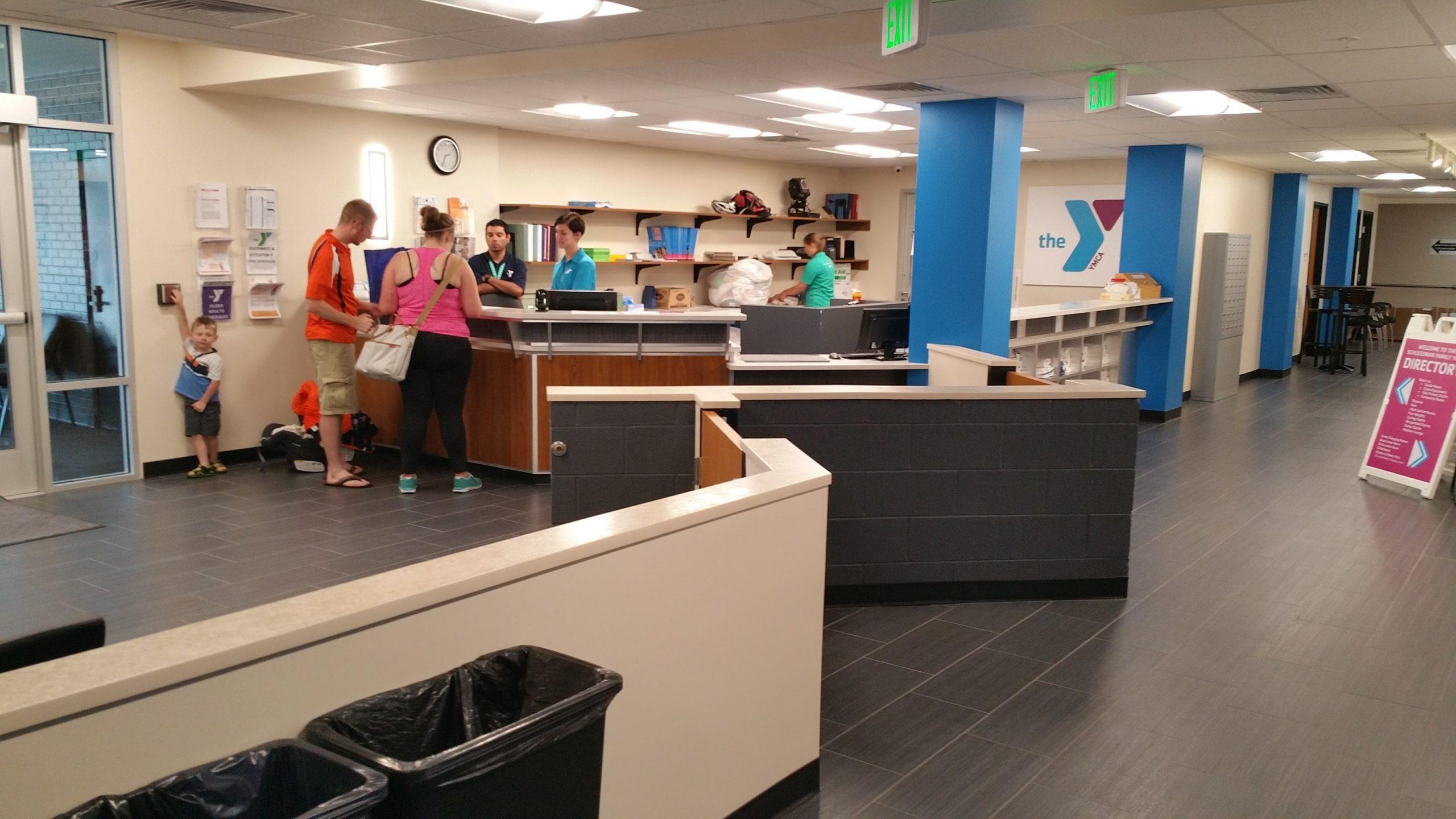 Schlessman YMCA Lobby