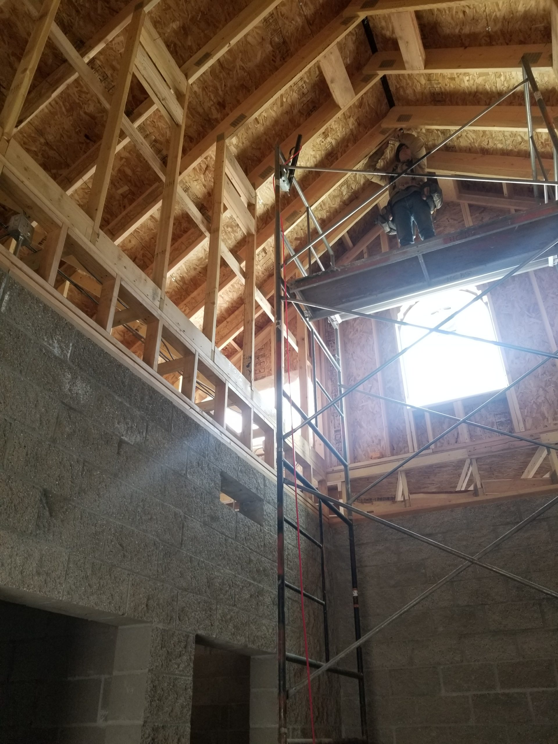 GLenwood Springs interior construction