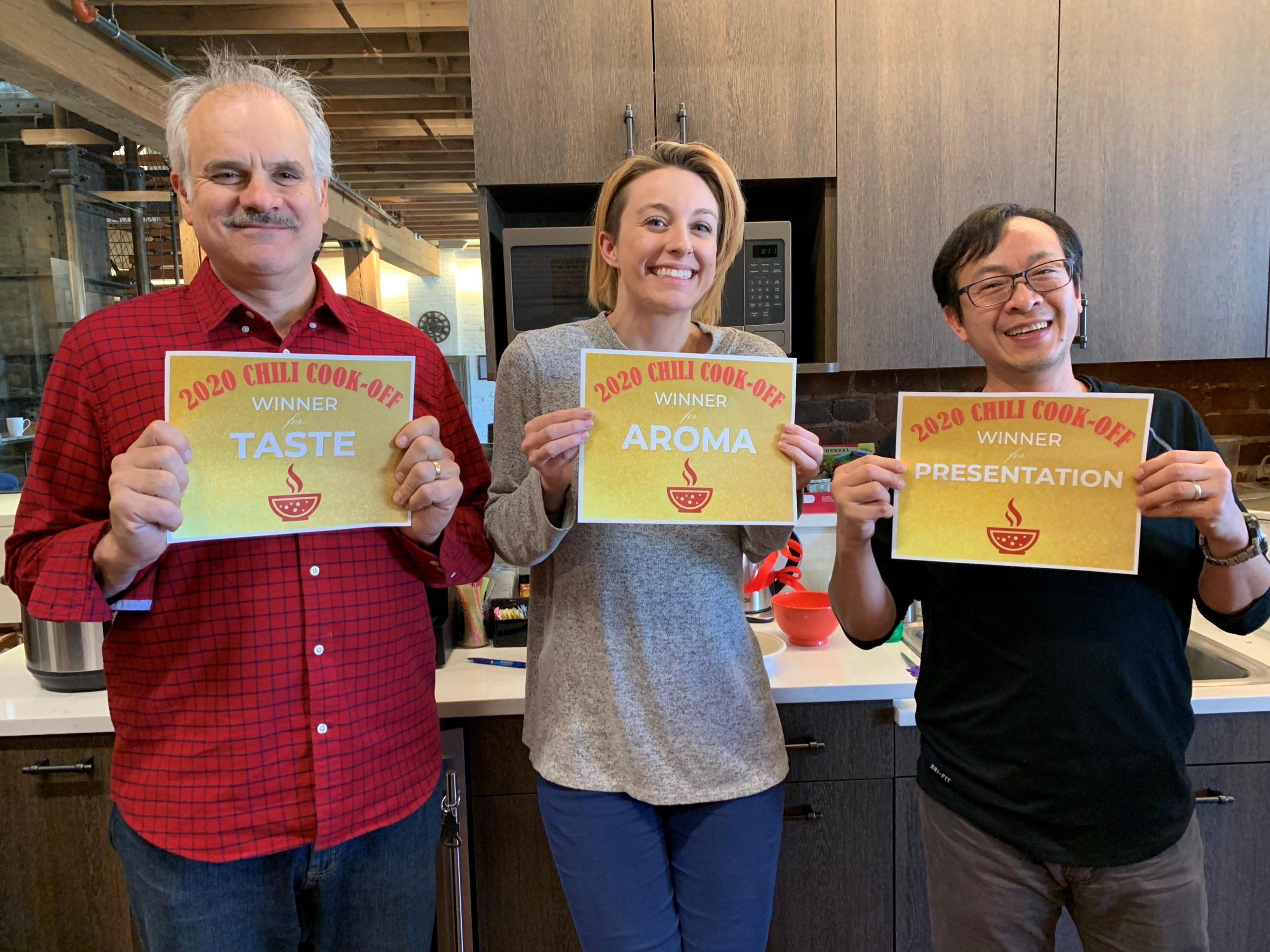 Winner of the 2020 chili cook-off
